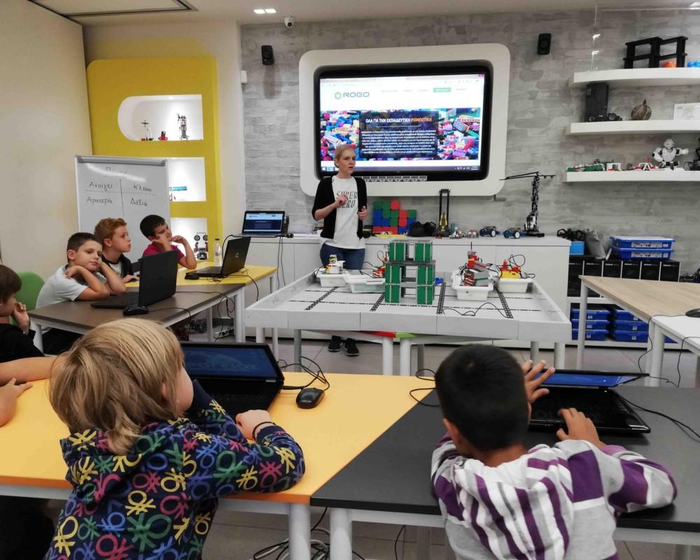 Μαθήματα ρομποτικής
