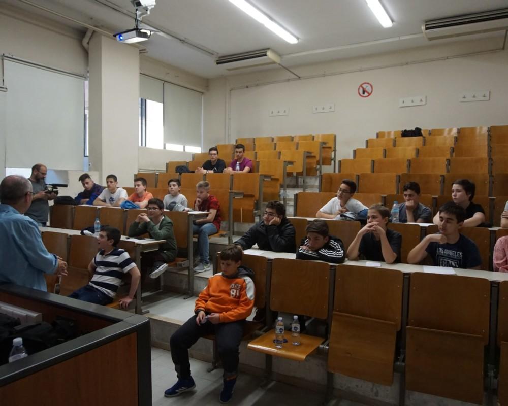 Επίσκεψη στο Τμήμα Πληροφορικής του Πανεπιστημίου Μακεδονίας