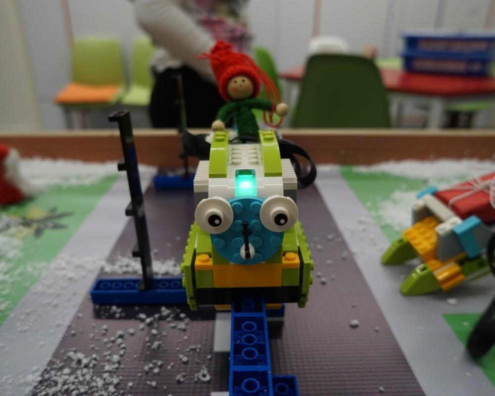 Χριστουγεννιάτικο τρένο