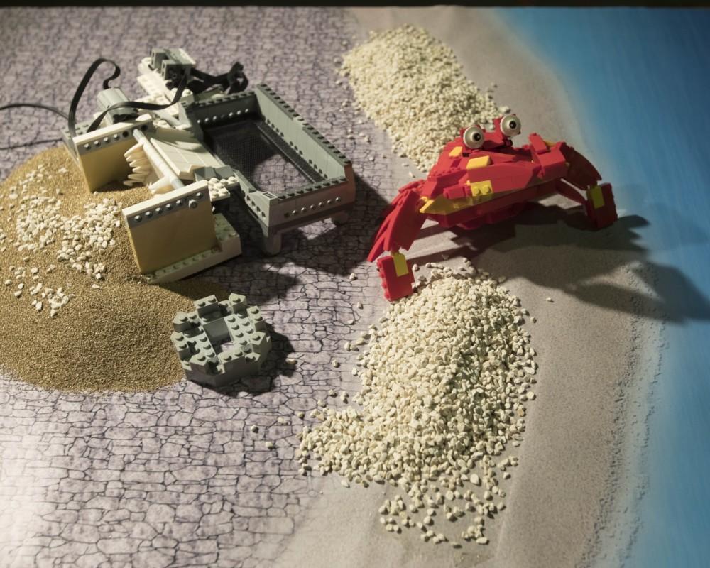Ρομπότ για τον καθαρισμό της παραλίας